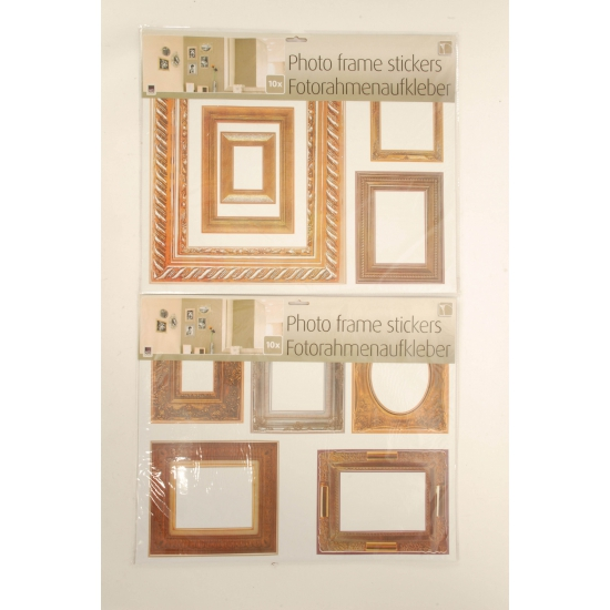 10 stuks foto frame stickers