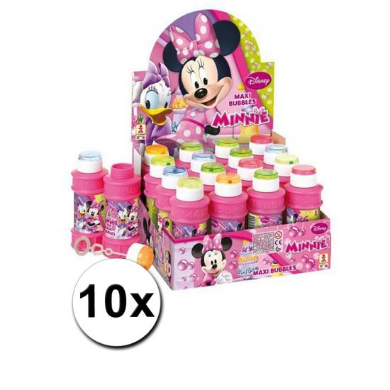 10x Minnie Mouse bellenblaas