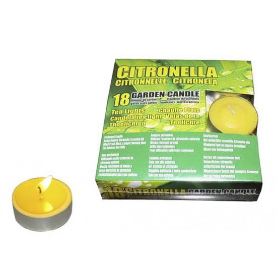 18 citronella waxinelichtjes