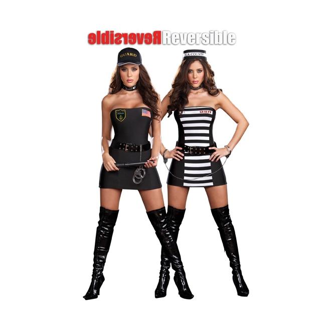 2 in 1 kostuum politie en boef