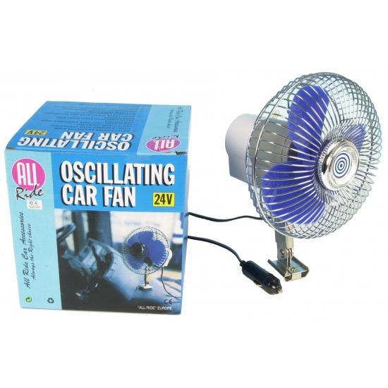 24V ventilator voor in de auto