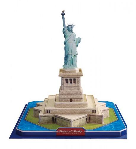 3D Vrijheidsbeeld puzzel 26 x 26 x 23 cm