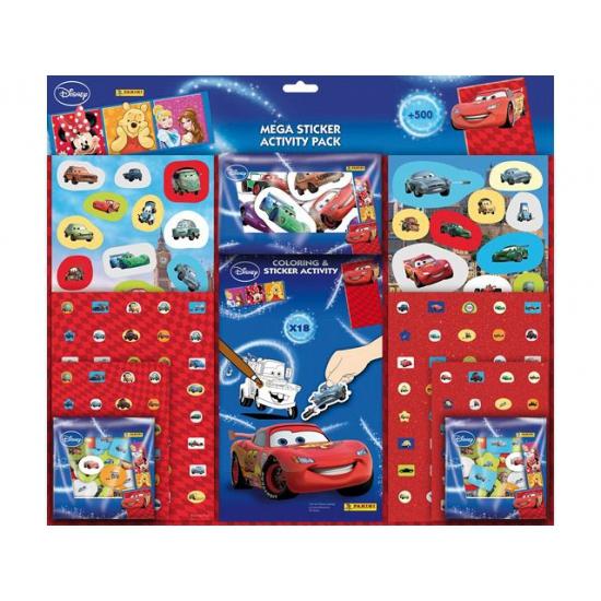 500 Cars stickers voor jongens