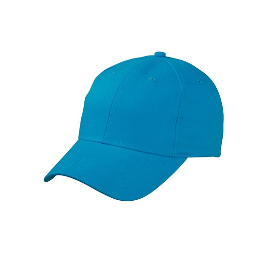 6 panel baseball cap turquoise