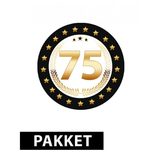 Verjaardag 75 jaar pakket