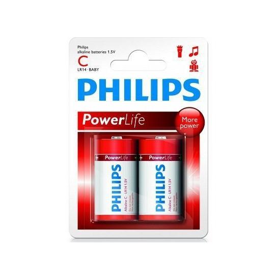 Alkaline LR14 C batterij set