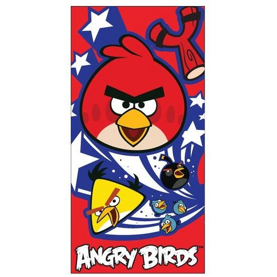 Angry Birds handdoek 70 x 140 cm
