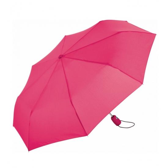 Automatische zak paraplu roze