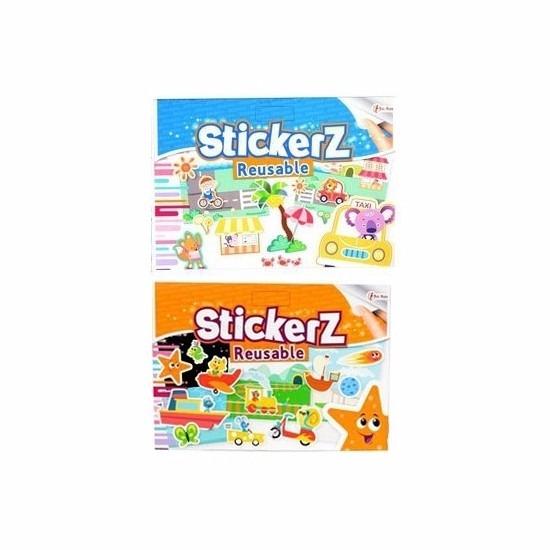 Autoraam stickers set voor jongens