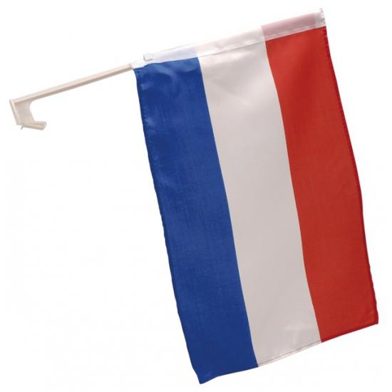 Autovlag Nederland 28 x 45 cm