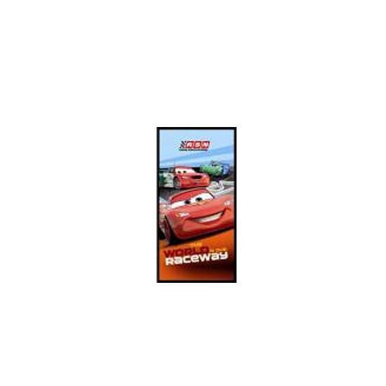 Badlaken Cars raceway 75 x 150 cm