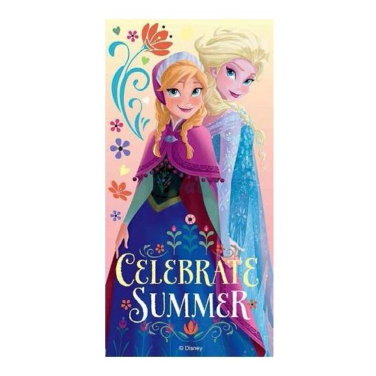 Badlaken Elsa en Anna 70 x 140 cm