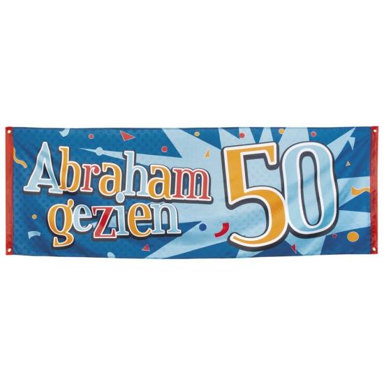 Banner Abraham gezien 74 x 220