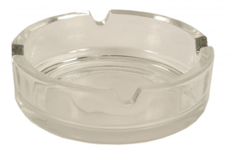Basic asbak van glas