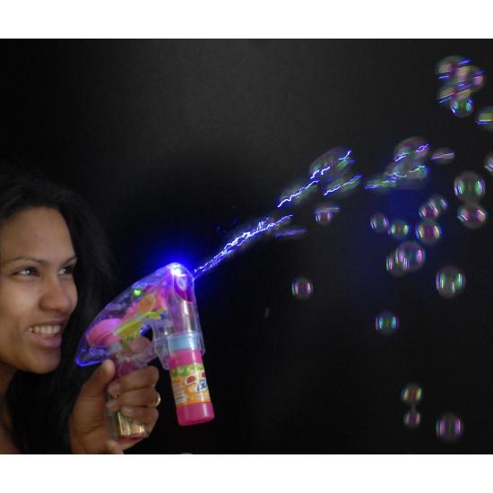 Bellenblaas pistool met LED licht