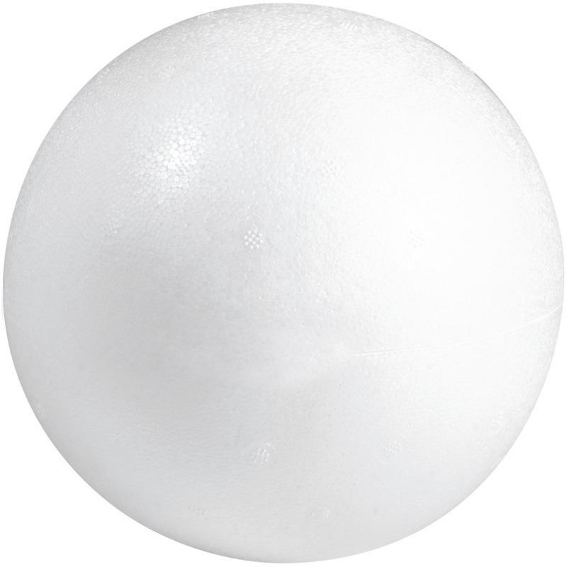 Beschilderbare bal van piepschuim