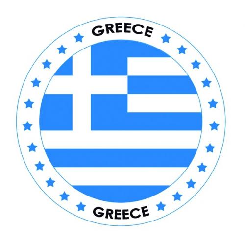 Bierviltjes Griekenland thema print