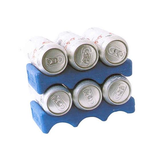 Blauw koelelement voor blikjes