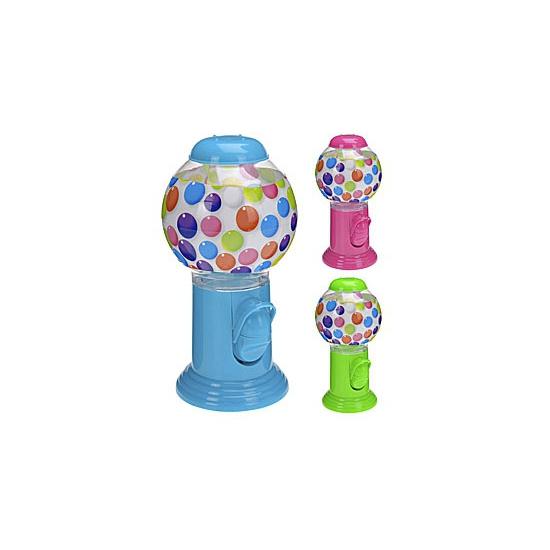 Blauwe kauwgomballen automaat 20 cm