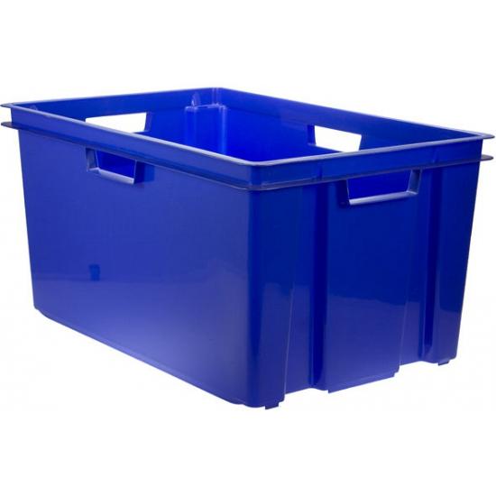 Blauwe opbergboxen 60 cm