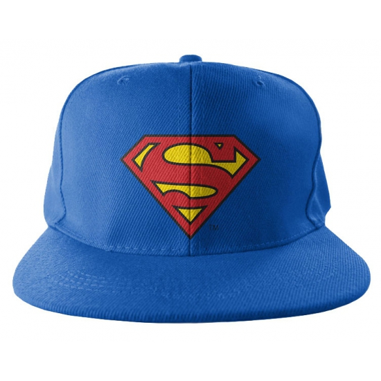 Blauwe pet van Superman