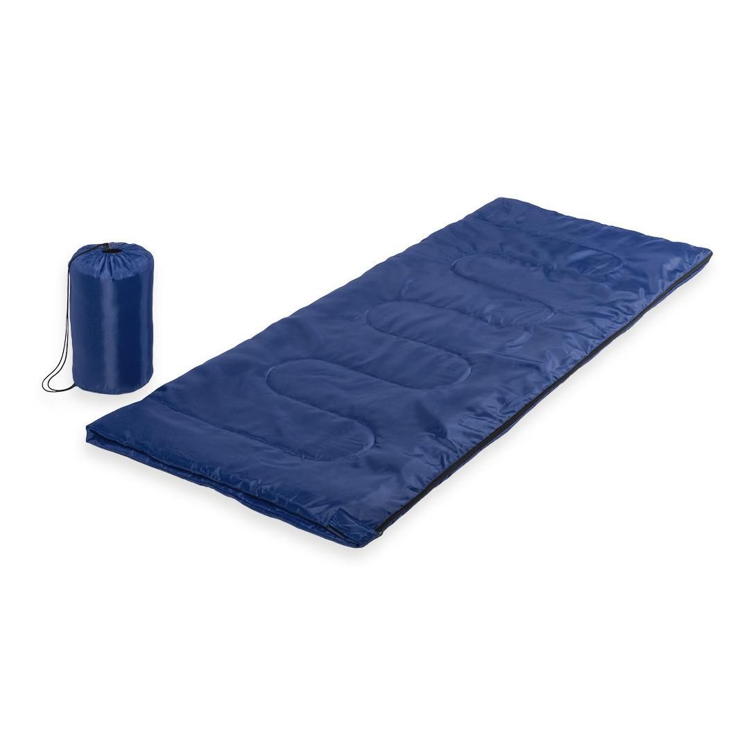 Blauwe slaapzak 185 cm