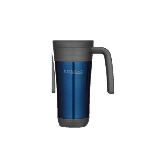 Blauwe thermosbeker 425 ml
