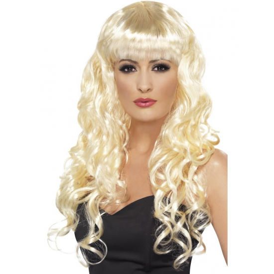 Barbie feest pruiken blond