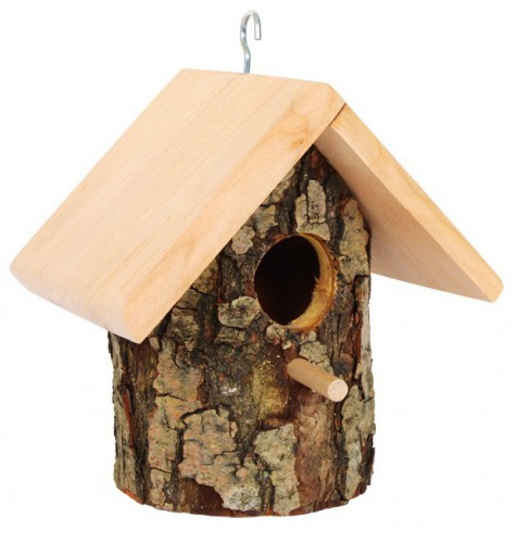 Boomschors vogelhuisje 16 x 13 x 17  cm