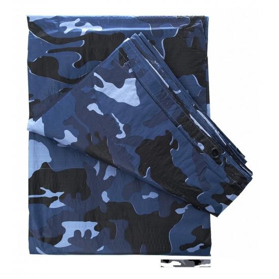 Camouflage afdekzeil 3 x 2 meter