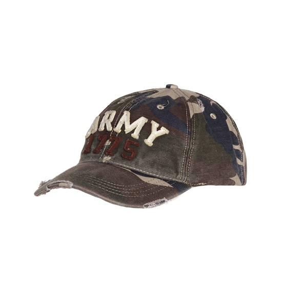 Camouflage army petten