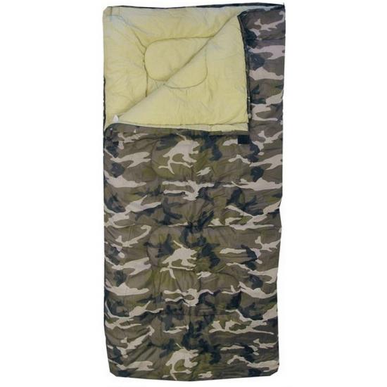 Camouflage slaapzak voor kinderen