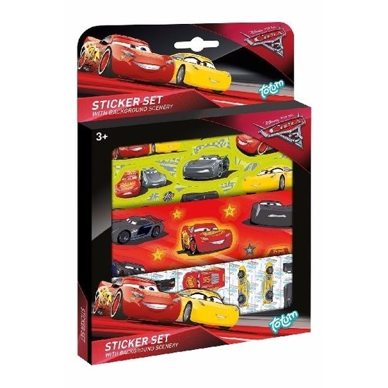 Cars 3 sticker set