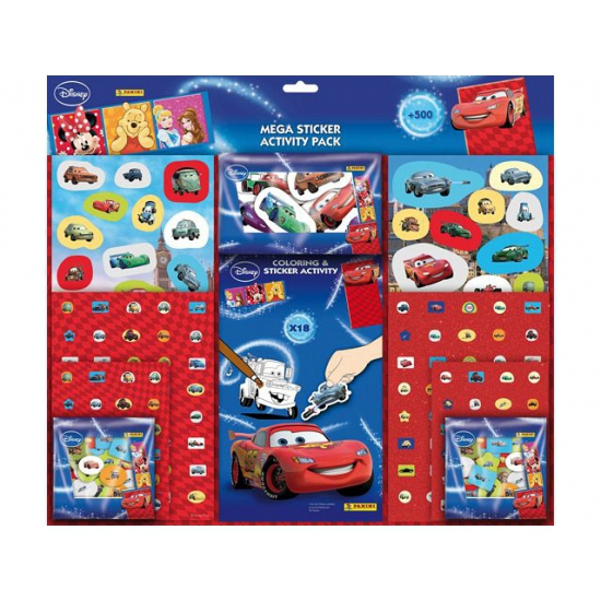 Cars sticker set voor jongens