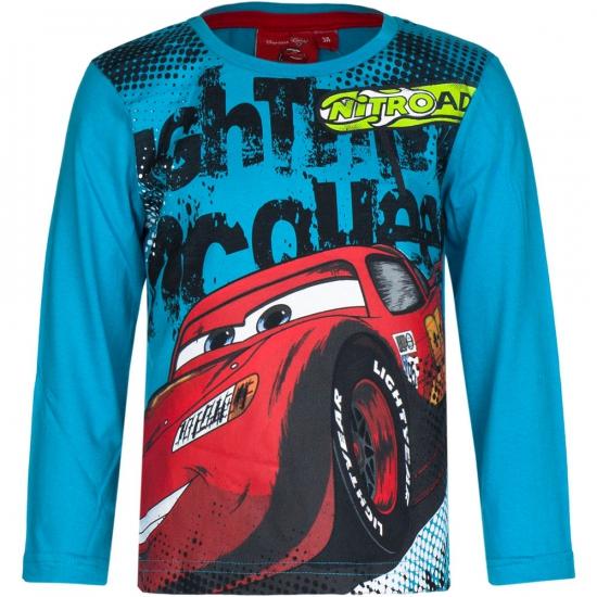 Cars t shirt petrol blauw
