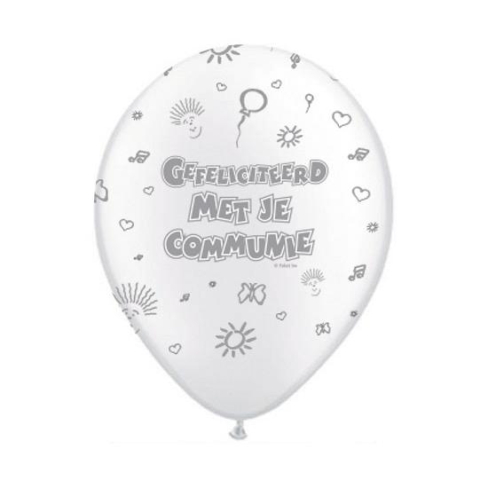 Eerste communie ballonnen 10x
