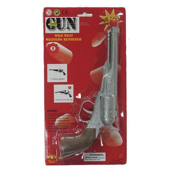 Cowboy revolver 8 schoten
