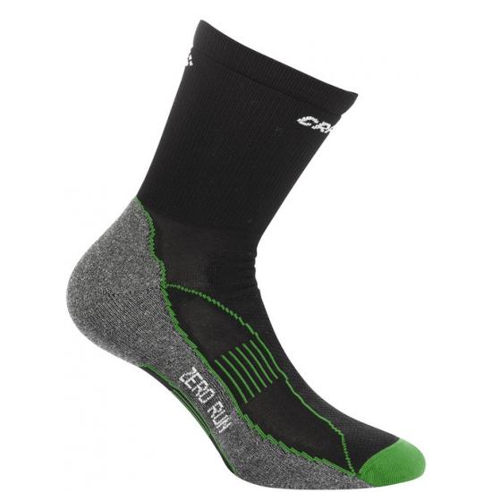 Craft sokken voor het sporten zwart/groen