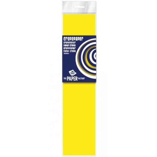 Crepe papier in de kleur neon geel