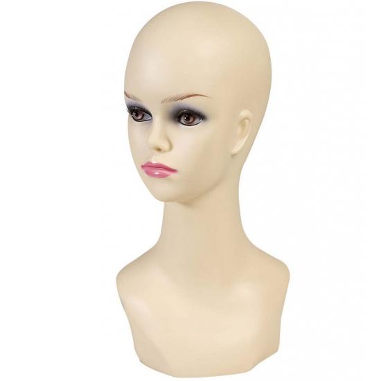 Dames hoofd display 40 cm