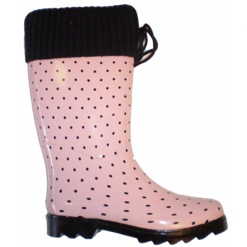Dames regenlaars licht roze