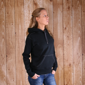 Dames sweater met capuchon