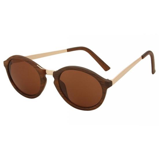 Dames zonnebril met ronde glazen