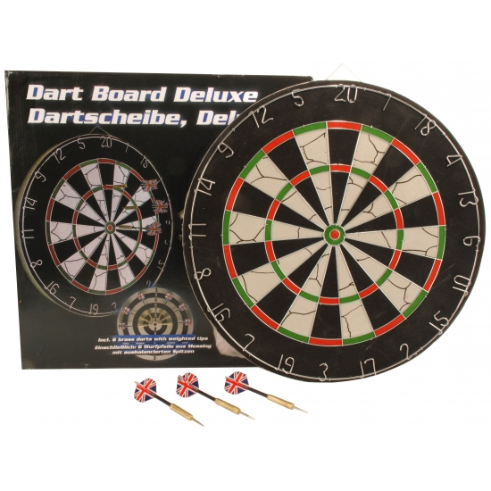 Dartbord met pijlen 45 cm