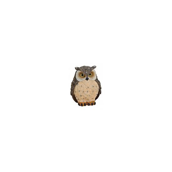 Decoratie oehoe uil beeldje 11 cm