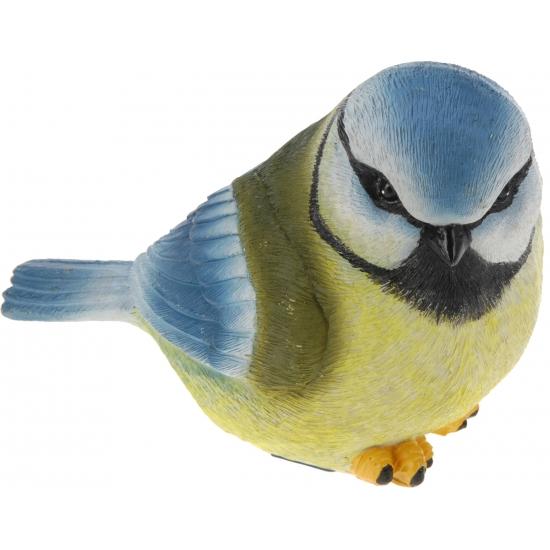 Decoratie Pimpelmeesje vogel 17 cm