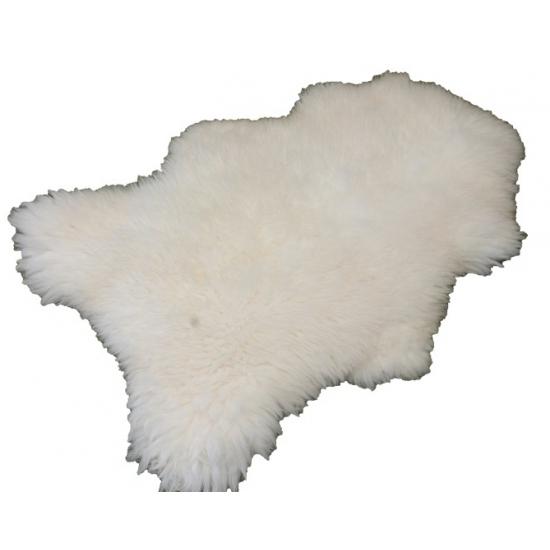 Decoratie schapenvacht wit