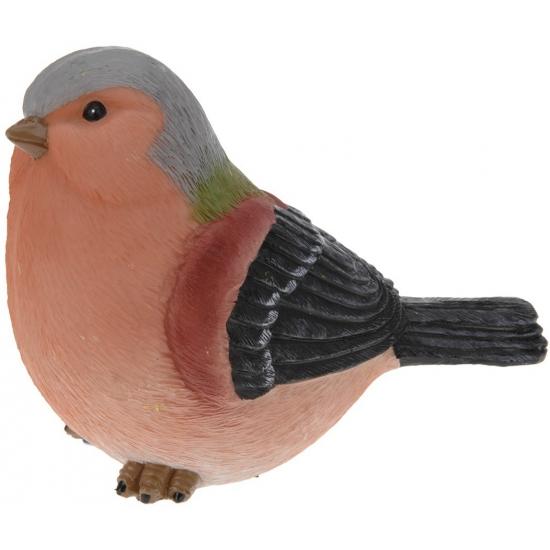 Decoratie Vink vogeltje 17 cm