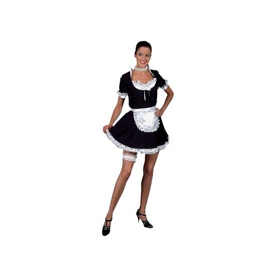 Dienstmeisje jurk volwassenen