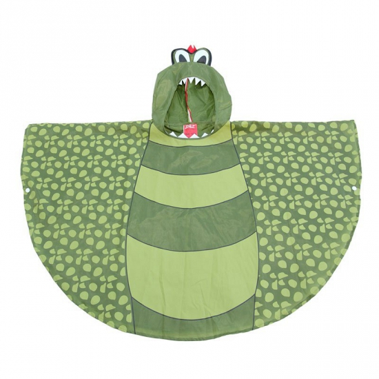 Dinosaurus poncho voor kinderen